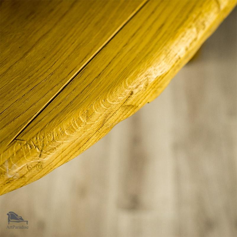 Topnotch Rzeźbiony stół dębowy - Góralski klimat - STOŁY, STOLIKI I ŁAWY KN95